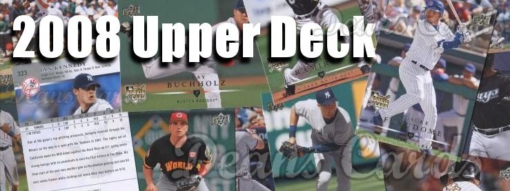 2008 Upper Deck Baseball Cards