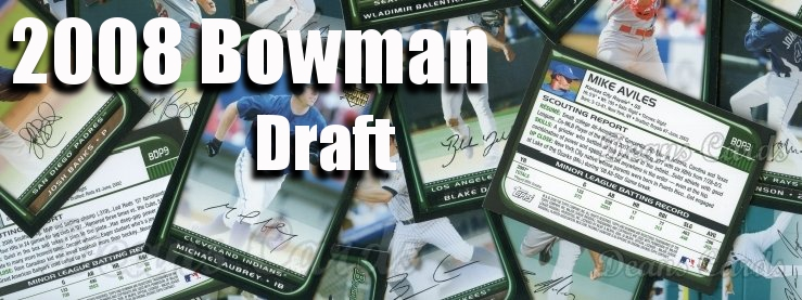 2008 Bowman Draft Baseball Cards