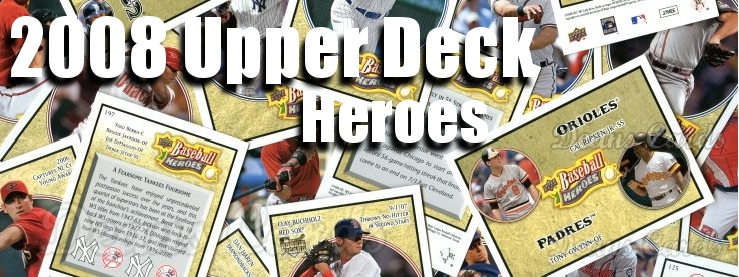 2008 Upper Deck Heroes Baseball Cards