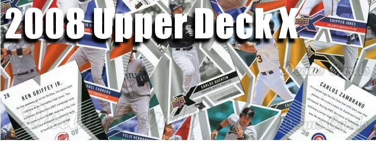 2008 Upper Deck X Baseball Cards