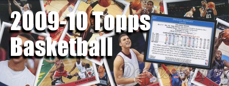 2009-10 Topps Basketball Cards