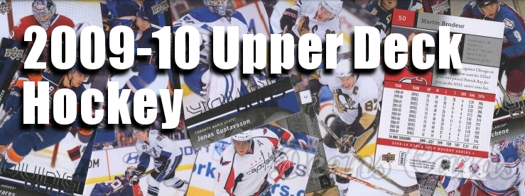 2009-10 Upper Deck Hockey Cards