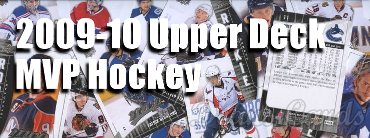 2009-10 Upper Deck MVP Hockey Cards