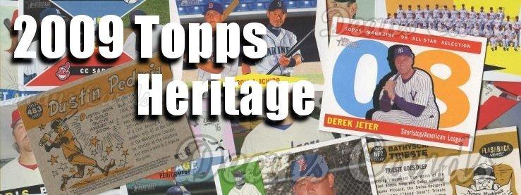2009 Topps Heritage Baseball Cards