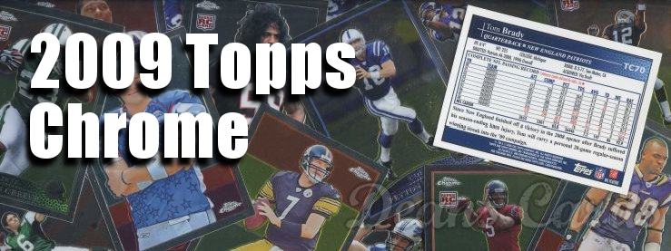 2009 Topps Chrome Football Cards
