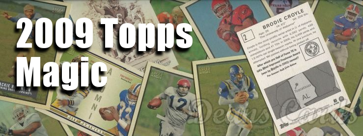 2009 Topps Magic Football Cards