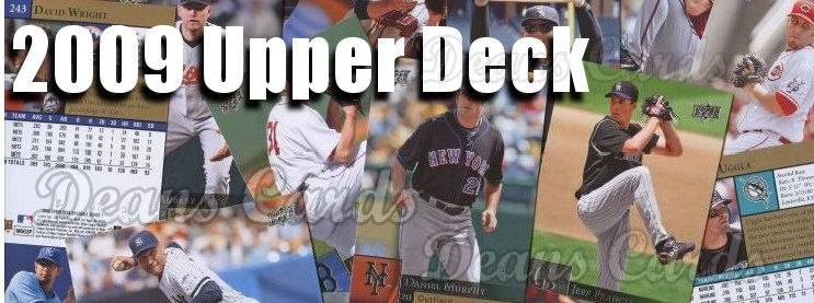2009 Upper Deck Baseball Cards