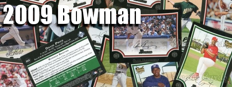 2009 Bowman Baseball Cards