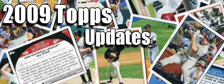 2009 Topps Update Baseball Cards