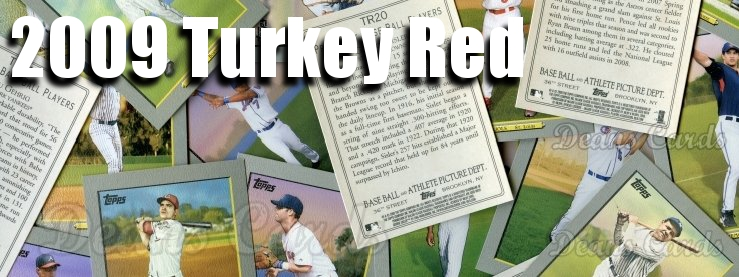 2009 Turkey Red Baseball Cards