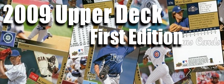 2009 Upper Deck First Edition Baseball Cards