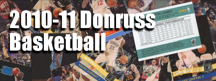 2010-11 Donruss Basketball Cards