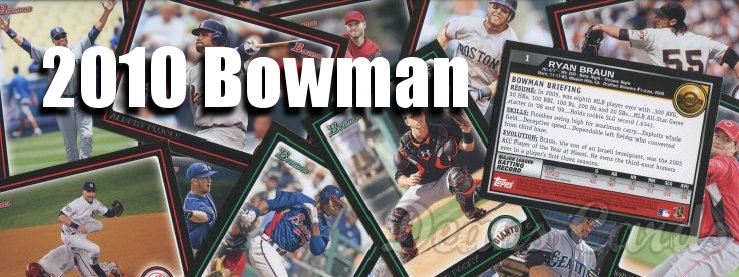 2010 Bowman Baseball Cards