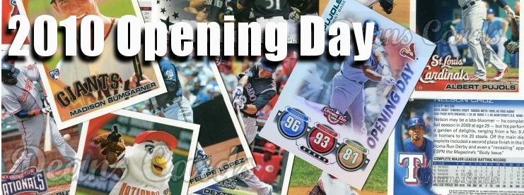 2010 Topps Opening Day Baseball Cards