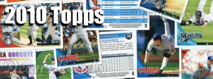 2010 Topps Baseball Cards