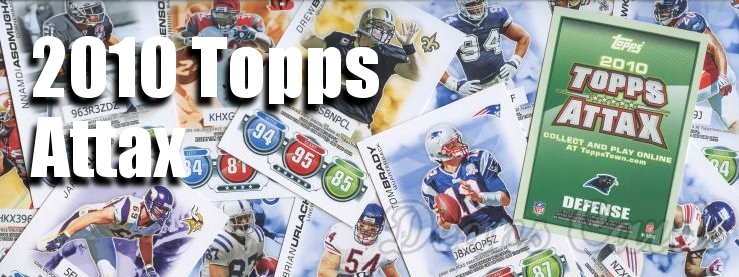 2010 Topps Football Attax Cards