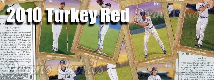 2010 Topps Turkey Red Baseball Cards