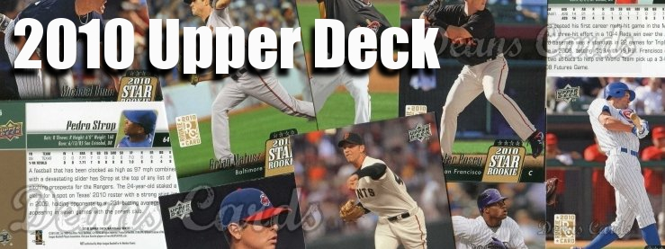 2010 Upper Deck Baseball Cards