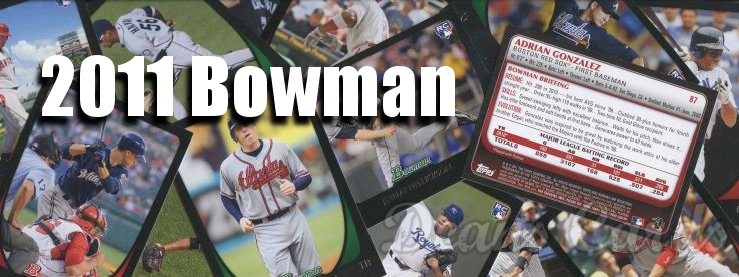 2011 Bowman Baseball Cards