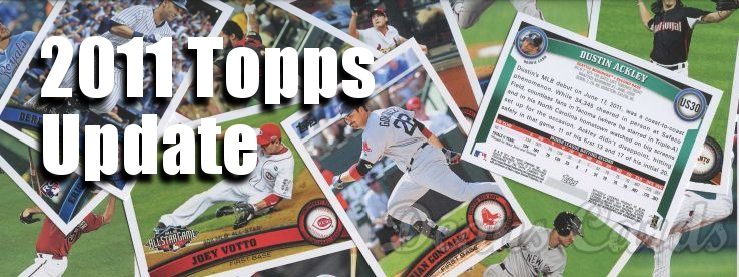 2011 Topps Update Baseball Cards