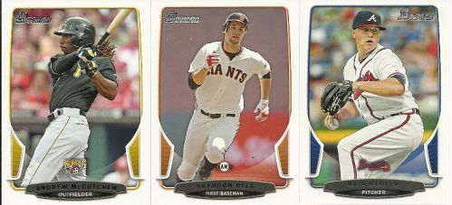 2012 Bowman Baseball Cards