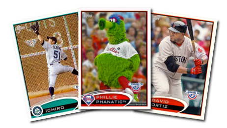 2012 Topps Opening Day Baseball Cards