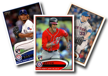 2012 Topps Update Baseball Cards