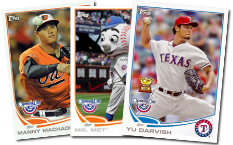 2013 Topps Opening Day Baseball Cards