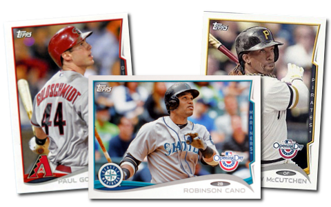 2014 Topps Opening Day Baseball Cards