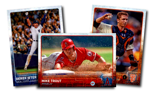 2015 Topps Series 1 Baseball Cards - In Stock Now!