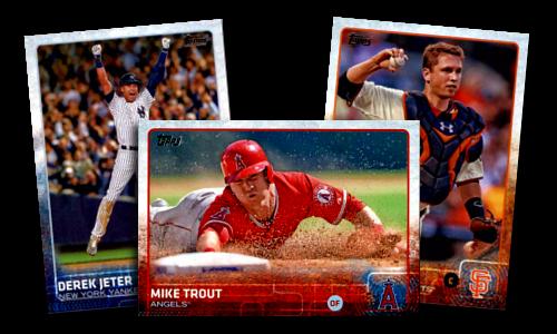 2015 Topps Baseball Cards