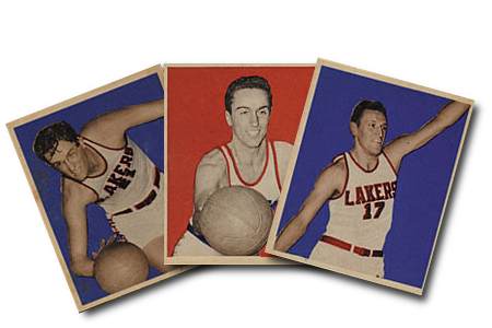 1948 Bowman Basketball Cards