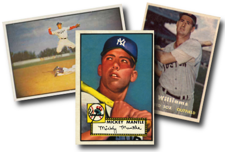 1950s Vintage Baseball Cards Topps Bowman Fleer And Others