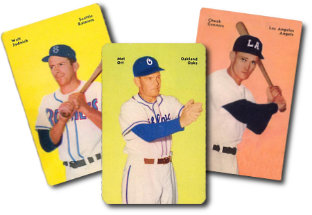 1952 Mother's Cookies Baseball Cards