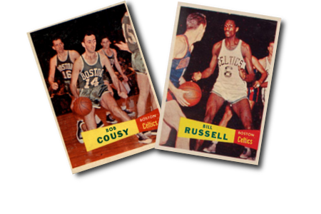 1957-58 Topps Basketball Cards
