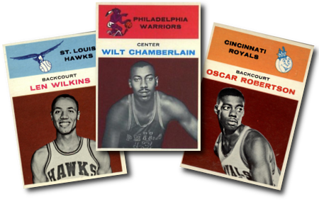 1961-62 Fleer Basketball Cards