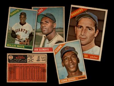 1966 Topps Venezuelan Baseball Cards