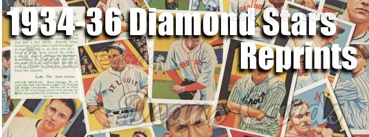 1934-36 Diamond Stars Reprint