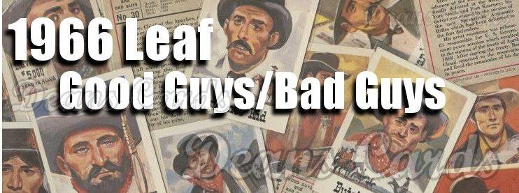 1966 Leaf Good Guys/Bad Guys