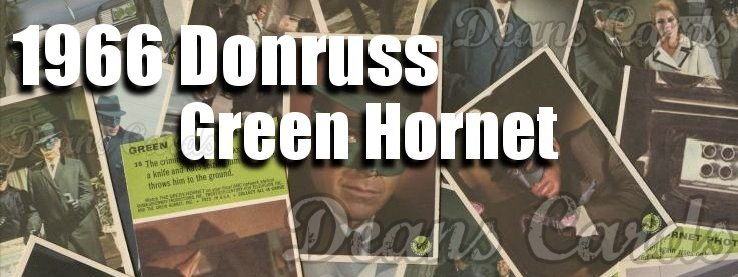 1966 Donruss Green Hornet