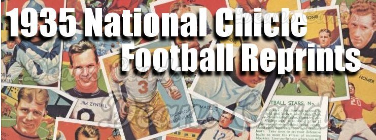 1935 National Chicle Football Reprints