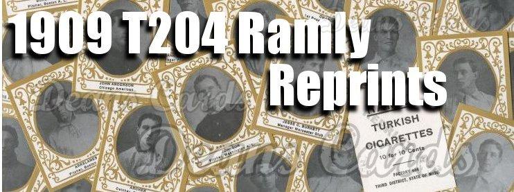 1909 T204 Ramly Reprint