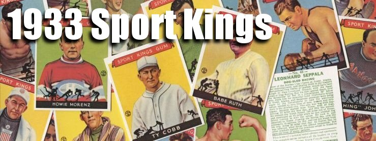 1933 Sport Kings (R338) Baseball Cards