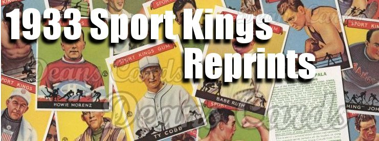 1933 Sports Kings Reprints