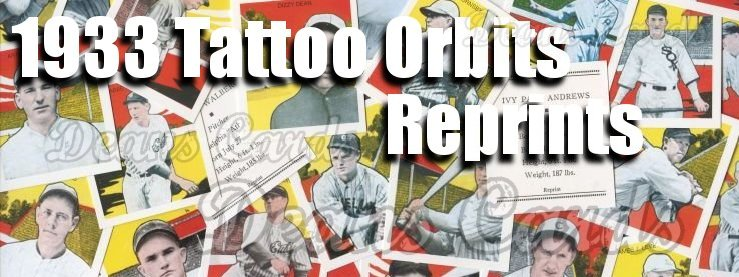 1933 Tattoo Orbit Reprints