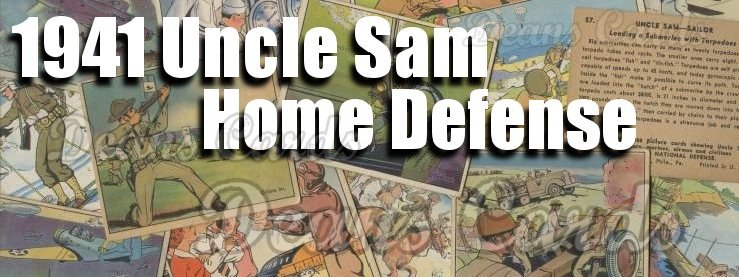 1941 Gum Inc. Uncle Sam/Home Defense