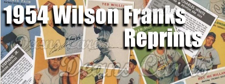 1954 Wilson Franks Reprints