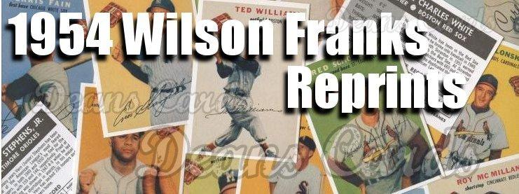 1954 Wilson Franks Reprint