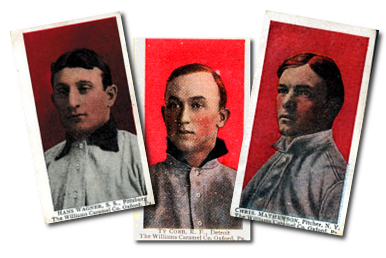 1910 E103 Williams Caramel Baseball Cards