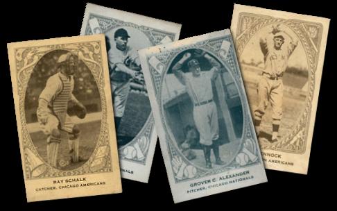 1922 E120 American Caramel Baseball Cards